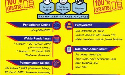 Informasi Sertifikasi Kompetensi
