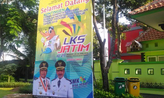 SMKN 2 Buduran Tuan Rumah LKS Tingkat Jawa Timur