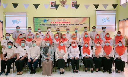 SMKN 2 Buduran Kegiatan IDUKA Mengajar dengan PT. INDO BISMAR