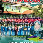 "SMKN 2 Buduran Wajah Sampul Majalah ""MEDIA"""