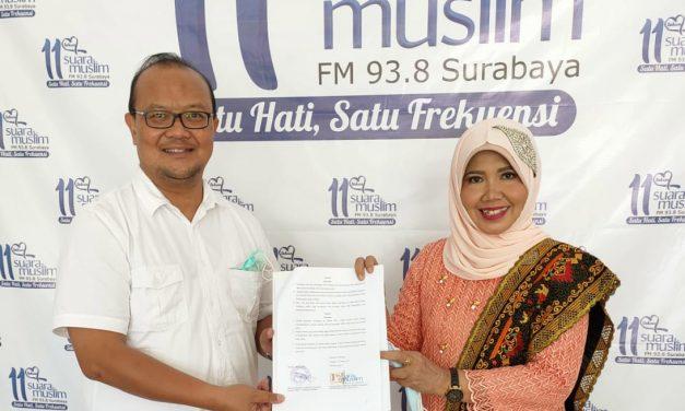 Kerjasama MOU dengan Radio Suara Muslim