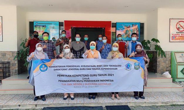SMKN 2 Buduran TUK kegiatan Pemetaan PKG Guru SD-SMP Nasional
