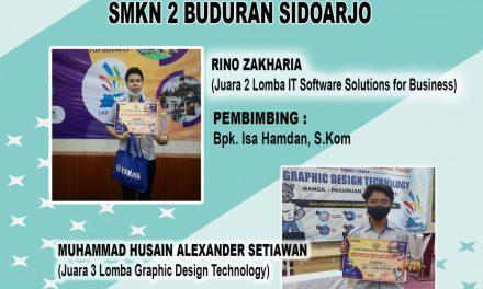 Siswa SMKN 2 Buduran Juara Lomba LKS Tingkat Jawa Timur 2021