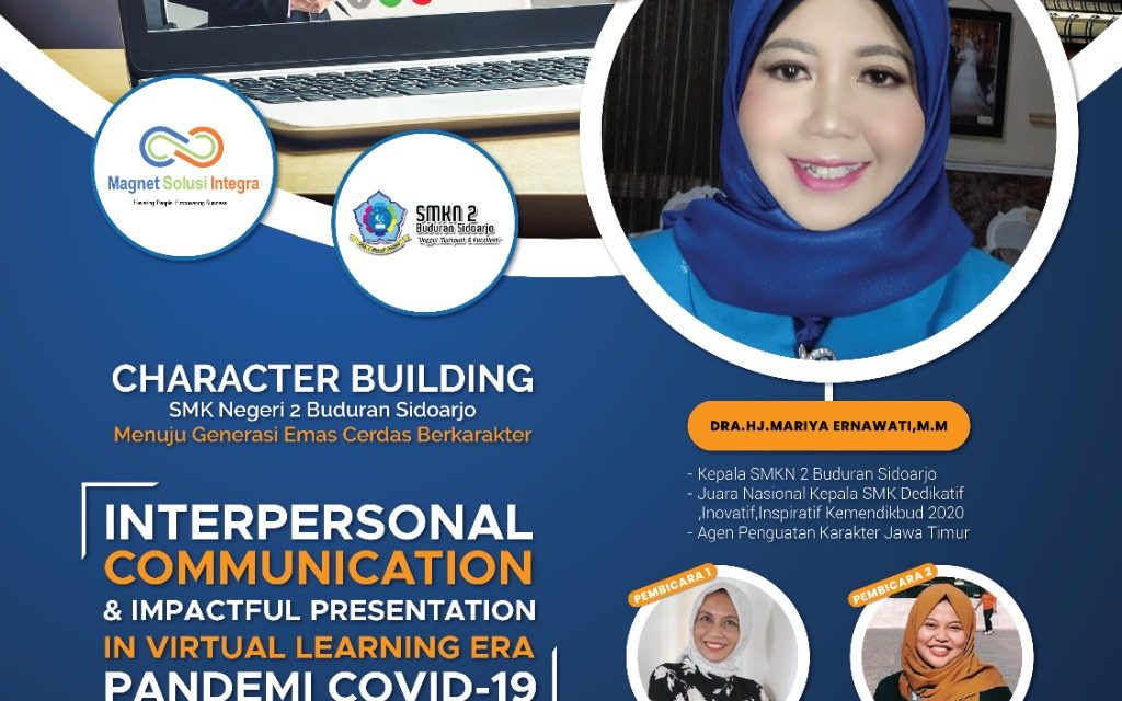 Character Building and Interpersonal Communication SMKN 2 Buduran Sidoarjo