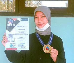 Wendy Fatika Sari Juara Nasional Sosiologi 2021